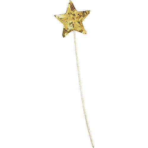 Forum Novelties, Sequin Star Wand - Gold Accessory (FO2)