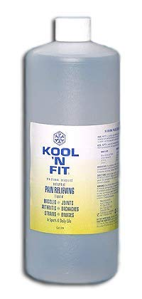 Kool 'N Fit Pain Relieving Liquid, 32 oz Bottle