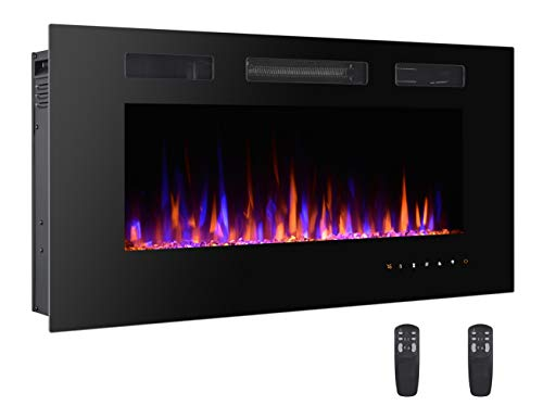 42 electric wall fireplace - 2