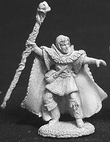 Drake Whiteraven, Elf Wizard by Reaper