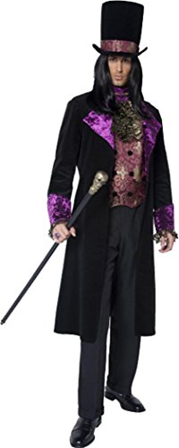 [The Gothic Count Costume Large] (Count Gothic Costumes)