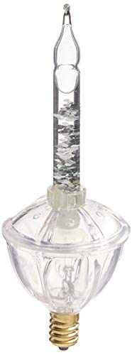 Vickerman 3-in-1 Pack C7 Clear Glitter Bubble Replacement Bulb, 5-watt]()