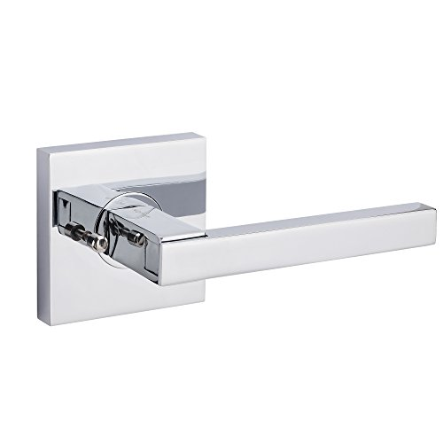 AVALON 0570 - Contemporary / Modern Door Handles / Levers (Privacy / Passage) - Polished Chrome - Set Avalon Lever Passage