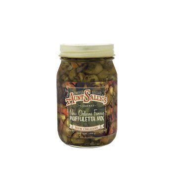 Orleans New Salad (Aunt Sally's New Orleans Famous Muffuletta Mix, 16 oz )