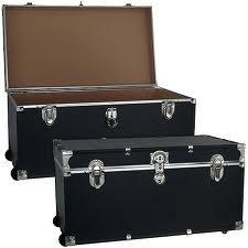 Mercury Luggage Wheeled Storage Locker, Black, 31'' oversized! by Seward Trunk