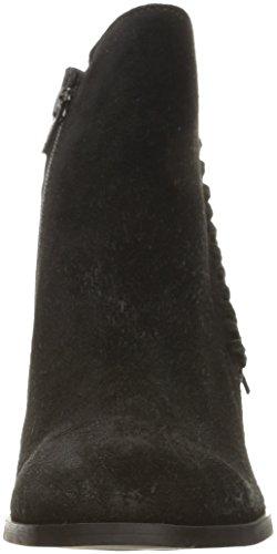 Kenneth Cole Reaction Rotini Rund Leder Mode-Stiefeletten Black
