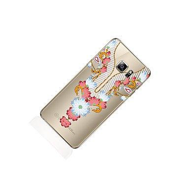 Casos hermosos, cubiertas, Para samsung galaxia s8 s8 más caja del teléfono patrón transparente patrón de impresión del cordón suave tpu para Samsung galaxia s7 ( Modelos Compatibles : Galaxy S7 Edge  Galaxy S6 Edge