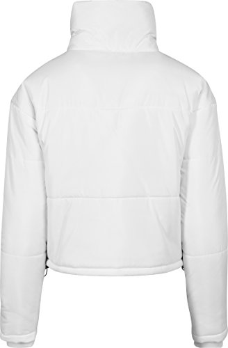 Jacket Donna Oversized Ladies Urban Classics Giacca High Weiß white Neck 220 qTT0xX