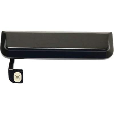 Evan-Fischer EVA18772058880 Exterior Door Handles for Set of 2 Front Left and Right Side Metal Smooth Black: Automotive