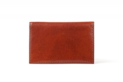 Bosca Men's Old Leather Calling Card Case (Cognac)