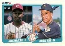 - Moises Alou/Chuck McElroy 1990 Fleer MLB Rookie Card #650 (Major League Prospects)