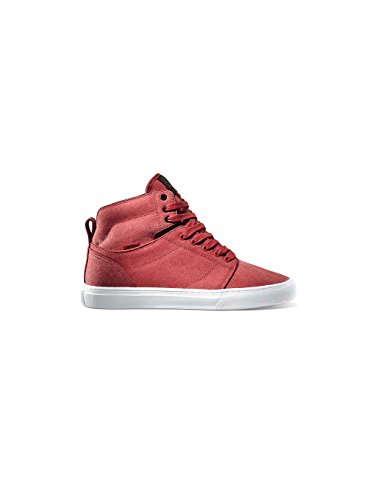 Vans Alomar Skateboarding Shoes Stone Washed Canvas Red Stone Washed Canvas Red HLSW24kZ