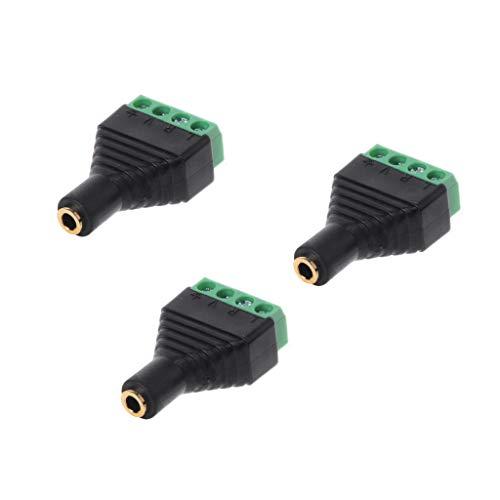 PoityA 3pcs 3.5mm 1/8