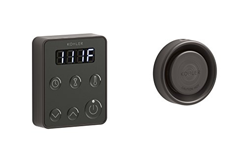 KOHLER 5557-2BZ Invigoration Series Steam Generator Control Kit, Oil-Rubbed Bronze
