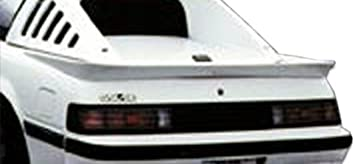 1 Piece Body Kit Brightt Duraflex ED-IIO-118 LT-R Wing Trunk Lid Spoiler Compatible With Corvette 1984-1990