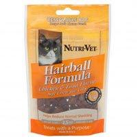 Nutri-Vet Hairball Soft Chews -- 2.5 oz