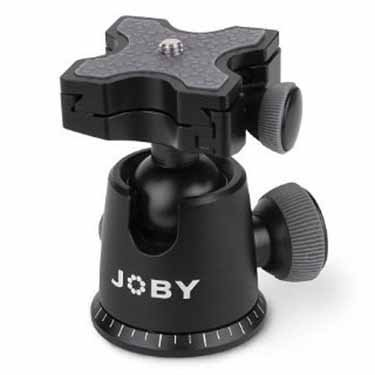 JOBY GorillaPod Ballhead X For Focus. Quick Release Ballhead for Tripods, Videos Cameras, and Pro DSLR Cameras w/ Zoom Lenses up to 5kg (11.1lbs) by Joby