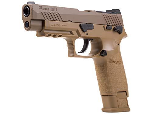 Sig Sauer M17 P320 ASP, CO2 Pellet Pistol, Tan air Pistol
