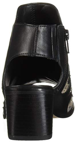LFL Life L Black Raz Women's Leather Lust by Flat for Sandal qwCxrq1nBR
