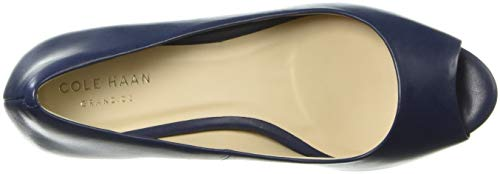 Ot Wedge Women's Pump Cole 65mm Leather Haan Blue Sadie Marine wqtF5AX