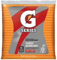 QOC33691 - Gatorade G2 Low Calorie Powdered Drink Mix, Fruit Punch, 21 Oz Packet by Gatorade