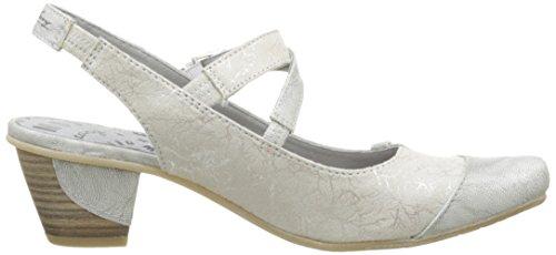 Mustang1227901 - Zapatos de Vestir Mujer Blanco - Blanc Cassé (203 Ice)