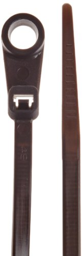 Weather Resistant Mountable Cable Tie, 40lbs Tensile Strengt