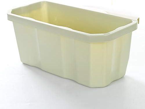 LZJBJ Bote Basura Caja Almacenamiento plástico la Cocina la Caja ...
