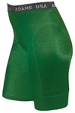 Adams Women's Lightweight Support Sliding Shorts, Dark Green, Small