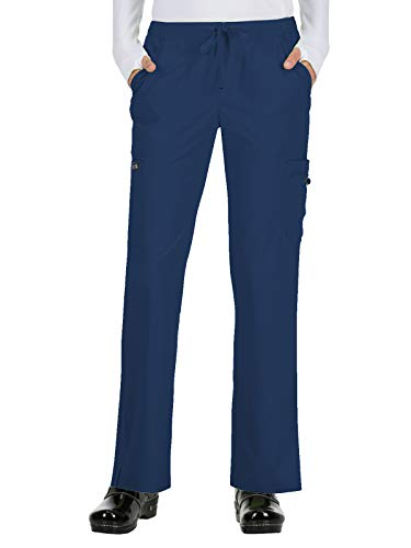 Microfiber Elastic Waist Pants - 7