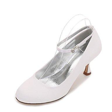 Noche Mujeres'S amp;Amp; Primavera Champán CN40 Azul Heelivory Wedding Vestido Rhinestone Confort Shoes EU39 UK6 RTRY US8 Bowknot Las 5 Plana Boda Rubí 5 De Satin Verano PZ7qwxC5x
