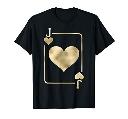 Jack of Hearts Shirt Playing Card Halloween Costume ()