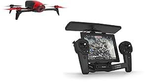 Parrot - Pack con Bebop 2 color rojo y SkyController color negro (PF726100AA)