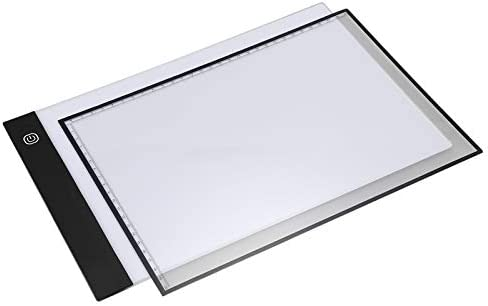 Noblik 4A Separate Type nimation Linyi Board Drawing Board LED Transparent Writing Board Through Writing Desk Sending Scales nd Clips