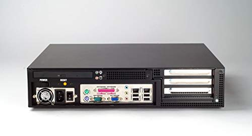 (DMC Taiwan) 2U 3-Slot Rackmount Chassis for ATX/MicroATX Motherboard with Front I/O
