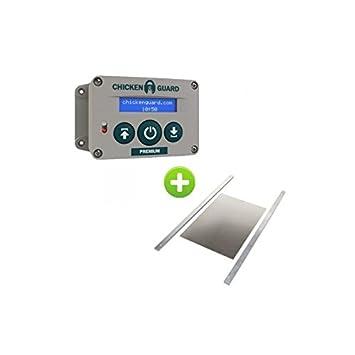 Portier Automatique Poulailler Premium Et Trappe Small Amazonfr - Porte automatique poulailler allemagne