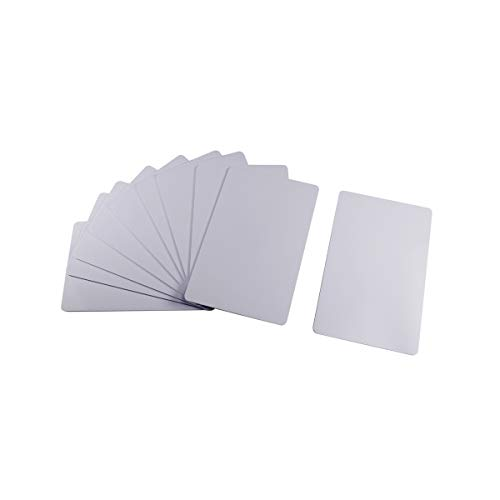 Blank Rewritable Card - ETEKJOY 10 PCS Writable 125kHz RFID Blank Card Proximity ID Card Key Token Tag Rewritable T5577 Universal