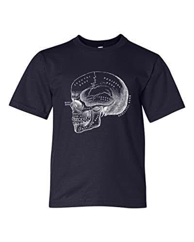 Amazon.com: Clearance, Anatomical Skull Tshirt Size Youth