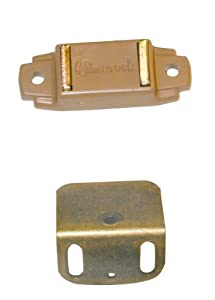 Amerock Magnetic Catch For Overlay Cabinet Door Tan - Cabinet And ...