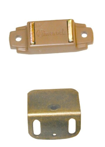 Amerock Magnetic Catch For Overlay Cabinet Door Tan - Amerock Magnetic Touch Latch