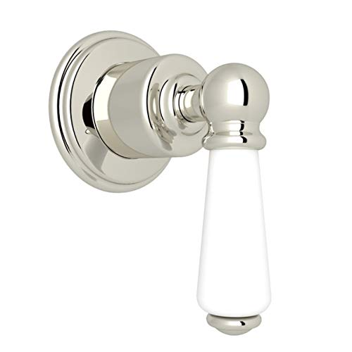 Pn Polished Nickel Porcelain - Rohl U.3240L-PN/TO VOLUME CONTROL/DIVERTERS, Polished Nickel