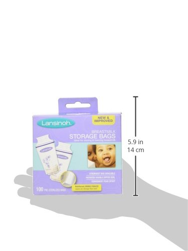 Large Product Image of Lansinoh Breastmilk Storage Bags - 100 ct