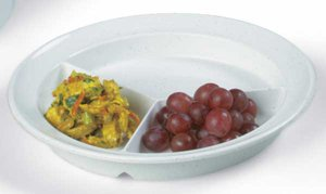 Compartment Dish. - Package of 5 by Sammons