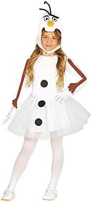 Disfraz de Muñeco de Nieve con Tutú para niña: Amazon.es: Juguetes ...