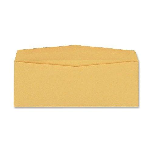 Quality Park Business Envelopes, 6 x 12 inches, Brown Kraft, Banker Flap, Box of 500 (QUA25762) by Quality Park