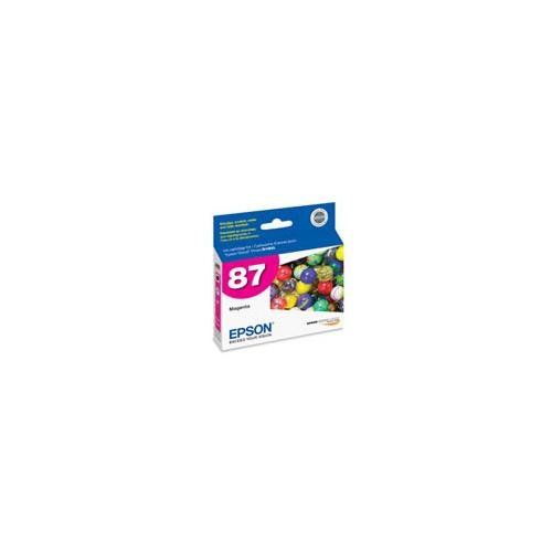 EPSON magenta ultrachrome high gloss 2 cartridge for stylus r1900 T087320 (T087320 Magenta Ink)