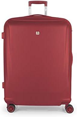 Gabol - Vermont   Maletas de Viaje Grandes Rigidas de 56 x 78 x 28 cm con Capacidad para 92 L de Color Roja