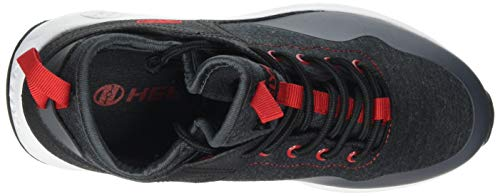 Heelys Boys' Piper Tennis Shoe Black Heathered/Red 3 M US Big Kid by Heelys (Image #7)