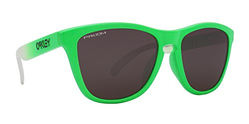 Oakley Unisex (A) Frogskins Green Fade/Prizm Daily Polarized One Size