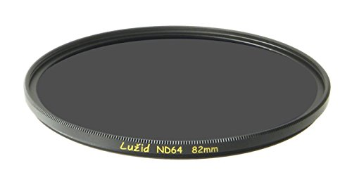 LUŽID X2 82mm ND64 MC Filter Schott B270 Glass Brass Frame ND 1.8 Multi-Coated 82 Luzid